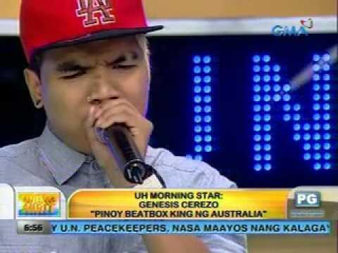 Unang Hirit: UH Morning Star, Genesis Cerezo 'Pinoy Beatbox King ng Australia'