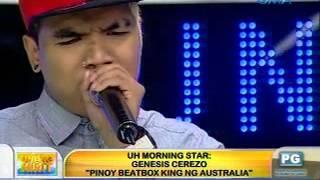 Unang Hirit: UH Morning Star, Genesis Cerezo
