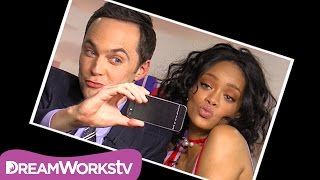 Rihanna & Jim Parsons: The Perfect Selfie | HOME
