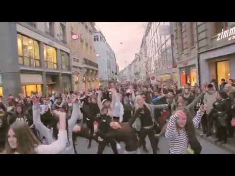 S.E. STUDIO – Xmas Flashmob 2014 – Basel