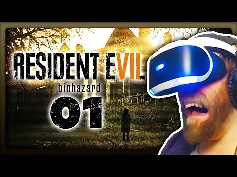 HORROR IN PLAYSTATION VR! 💀 #01 • Let's Play Resident Evil 7 [Deutsch / PSVR / PS4 Pro]