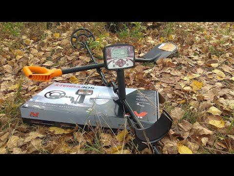 Купил металлоискатель и начал рыть землю как трактор. X-Terra 305 Minelab с нуля!