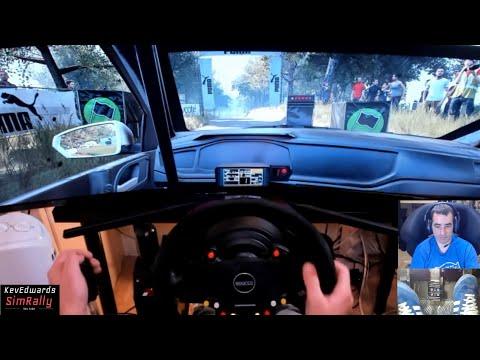 Dirt Rally 2 Gameplay on Samsung49inch Ultrawide