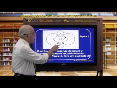 Vídeo Aula Questões Matemática ENEM 2012 - Prova Amarela - Resolvidas e Comentadas - Questão 162