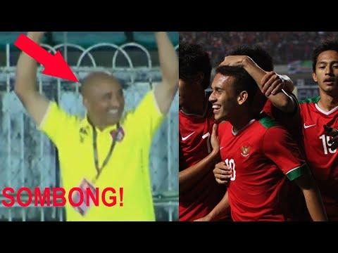 TIM GARUDA MUDA INDONESIA Hancurkan KESOMBONGAN Pelatih MYANMAR - Indonesia vs Myanmar 2-1
