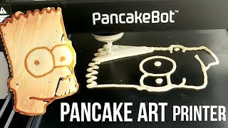 Making PANCAKE Art With a ROBOT!