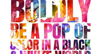 Boldly be a POP of color in a black & white world