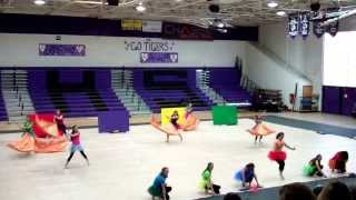 Copy of Prescott HS Winter Guard @ Millennium HS 2/8/14