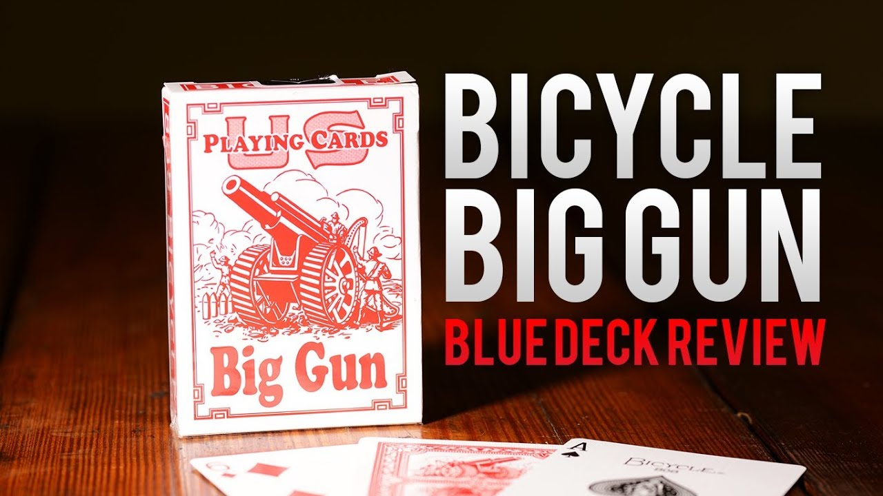 Deck Review Bicycle Big Gun Red Playing Cards Youtube