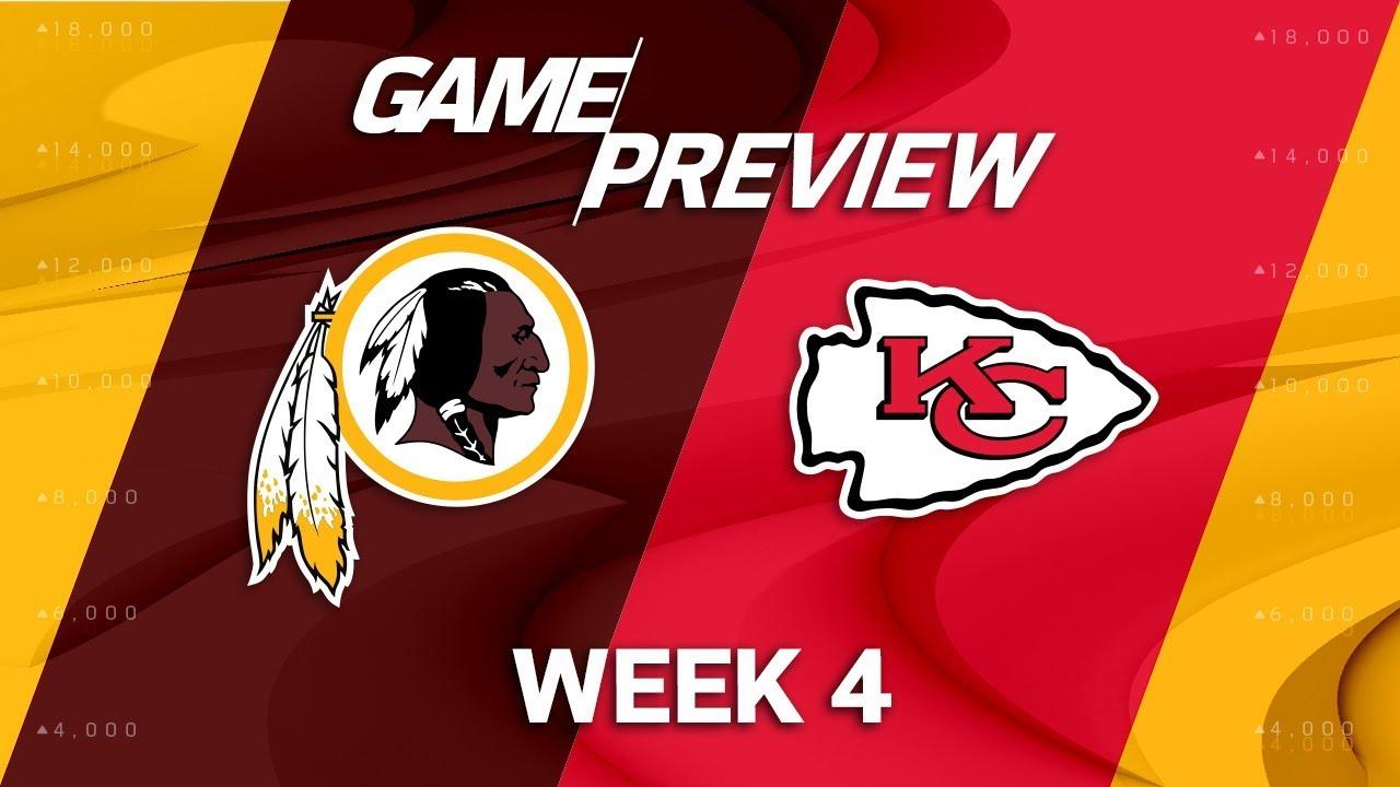Monday Night Football Preview: Washington Visits Kansas City For Clash of Top ...