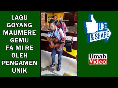 Pengamen Skill Dewa ini Bawakan Lagu Gemu Fa mi re, Goyang Maumere