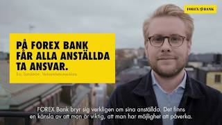 Jobba hos FOREX Bank