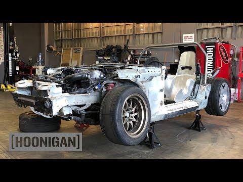 [HOONIGAN] DT 156: $200 Miata Kart Build [Part 2]