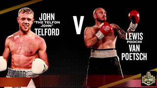 JOHN TELFORD VS LEWIS VAN POETSCH III - CONTENDER-VIP HILTON HOTEL MANCHESTER | BBTV