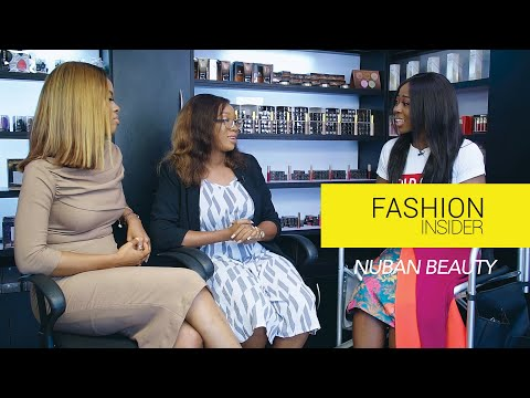 Nigerian Makeup Glam: Fashion Insider with Nuban Beauty