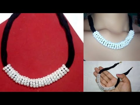 Elegant And Classy Light Weight Silk Thread Necklace || Jewellery And Creativity