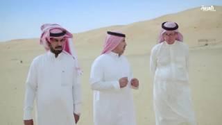 مستشرق في صحراء بن رخيص شمال السعودية