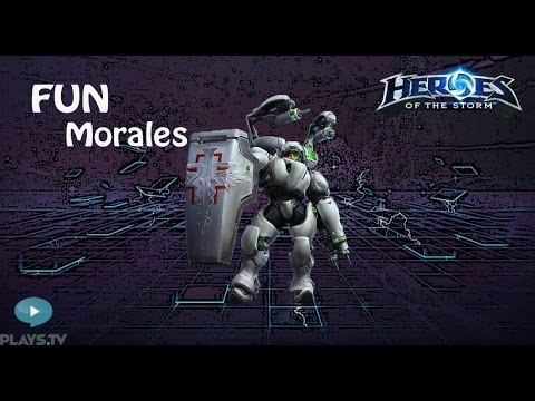 видео: heroes of the storm: top 1 eu (10 выпуск) - Лейтенант Моралес