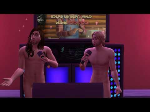 Naked Karaoke 2  Country Rei & Thor   The Sims 4