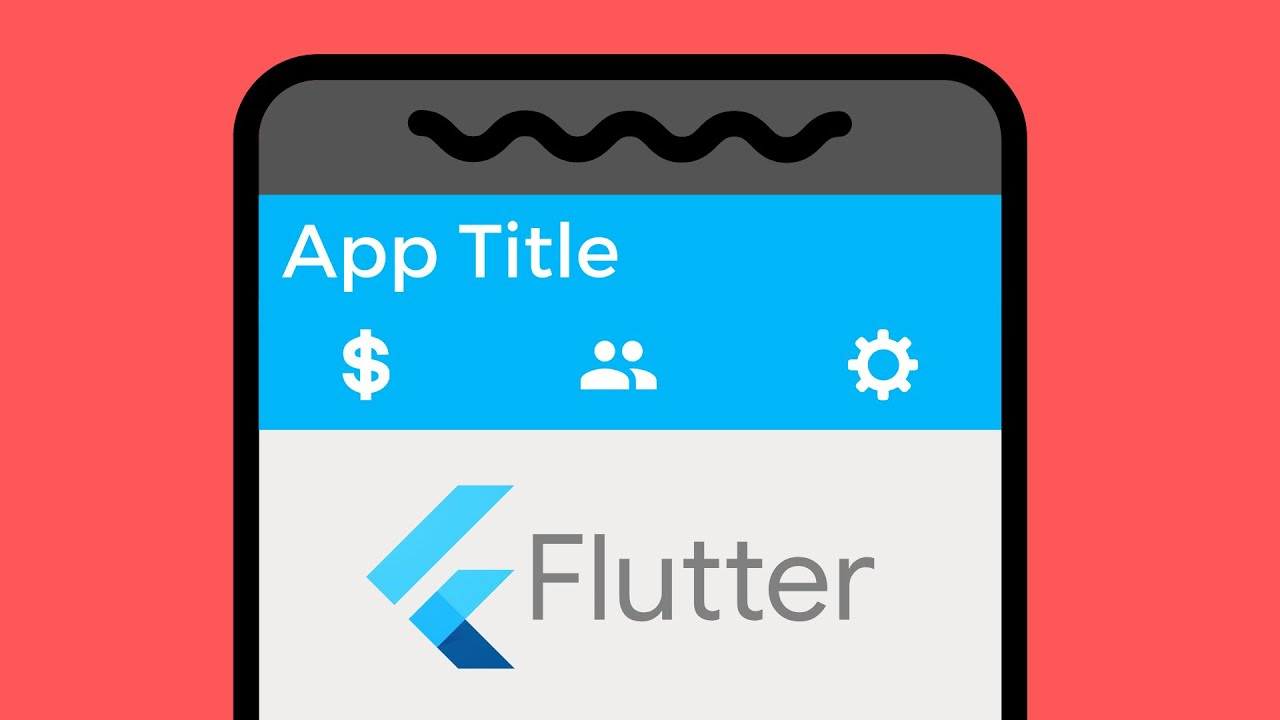 Creating a Tab Bar/Layout with Flutter in Android Studio Tutorial 2020