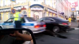 В Ульяновске девушка без прав сбила ребенка на велосипеде(Подробнее http://media73.ru/2015/68065-v-ulyanovske-devushka-bez-prav-sbila-velosipedista Видео: https://vk.com/videos12046795., 2015-06-24T10:41:51.000Z)