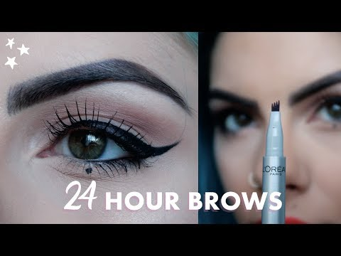 24 HOUR BROWS WITH L'OREAL - REVIEW | ad