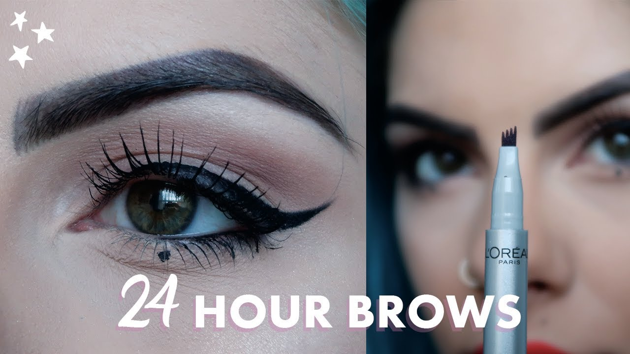 24 Hour Brows With Loreal Review Ad Youtube