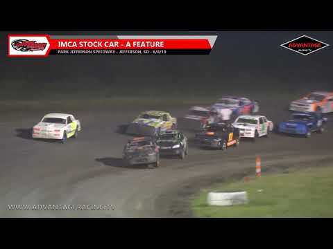 IMCA Stock Cars are out to battle for the win tonight at the Park Jefferson Speedway. Check out the Feature event here. You can see this event and MORE at ... - dirt track racing video image