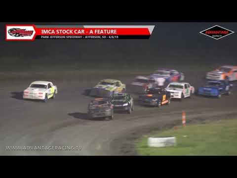 Stock Car Feature - Park Jefferson Speedway - 6/8/19
