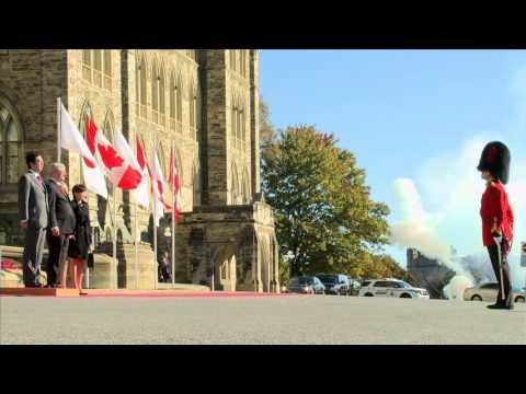 Shinzo Abe arrival