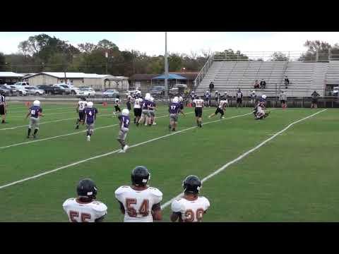 Farley Middle School 7th Grade Football Football