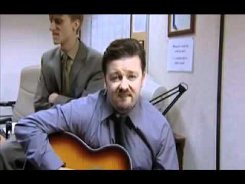 The Office UK Closing Credits - David Brent version of Handbags & the Gladrags