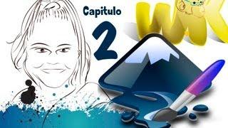 Inkscape español en Windows 8 Curso completo, Conociendo la interfaz, Capitulo No-2
