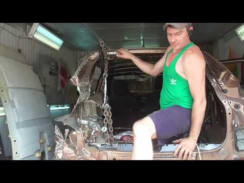 Лада LADA XRAY,от колыбели до могилы,и обратно!Полный обзор восстановления машины после ДТП!