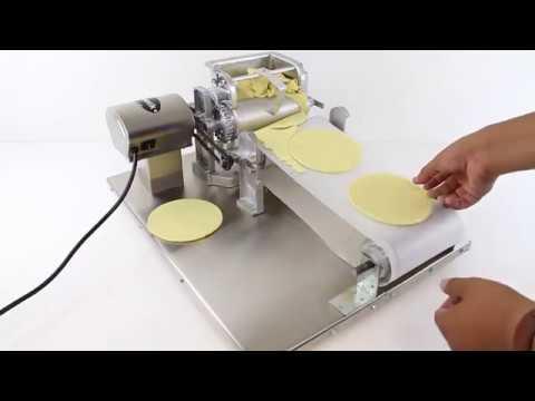 Tortilla Maker Machine #2 Commercial VIDEO- Tortilla Press How To Make Tortillas Roller Masa