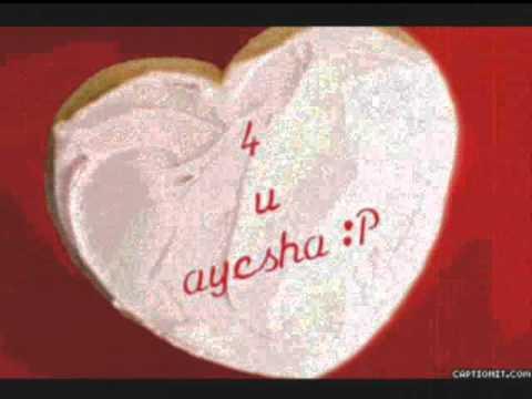 Happy Birthday To You Ayesha Youtube