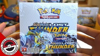 Our FIRST Lost Thunder Booster Box