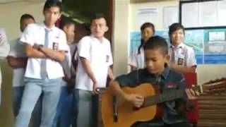 Viral anak kecil nyanyi lagu untuk ayah