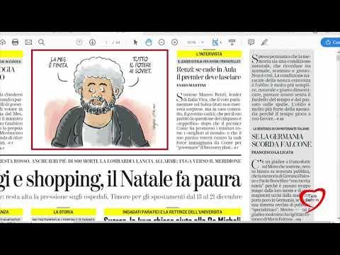 I giornali in edicola - la rassegna stampa 05/12/2020