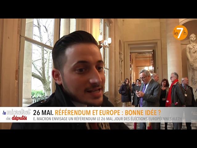 Le microtrot des députés. Référendum et Europe, le même jour, une bonne idée ?