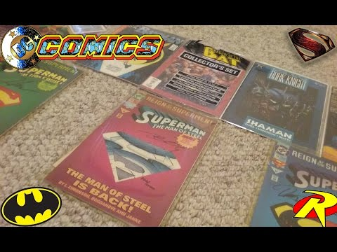 DC Comics COLLECTION (in depth) ALL years from: Batman Comics to Superman Comics