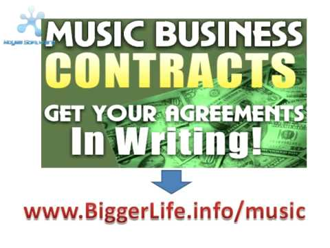 sample business contracts | sample business contract for music and entertainment business