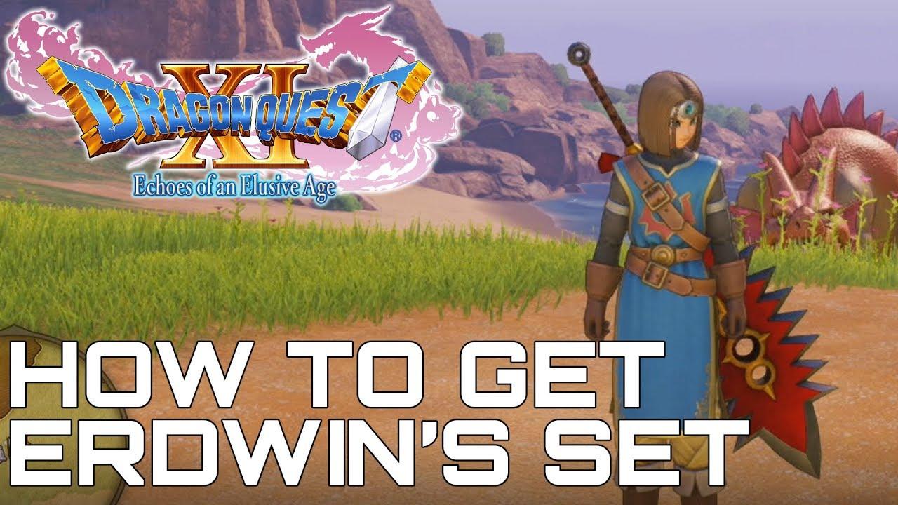 Dragon Quest XI HOW TO GET ERDWIN'S SET