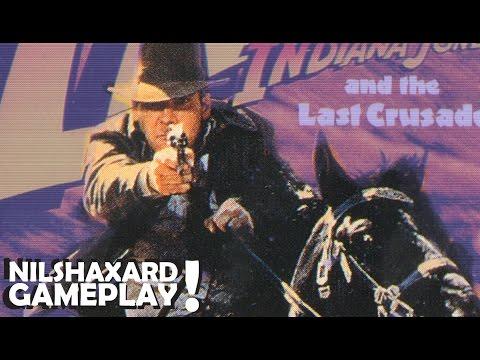 Indiana Jones & The Last Crusade (Commodore 64) - Gameplay |