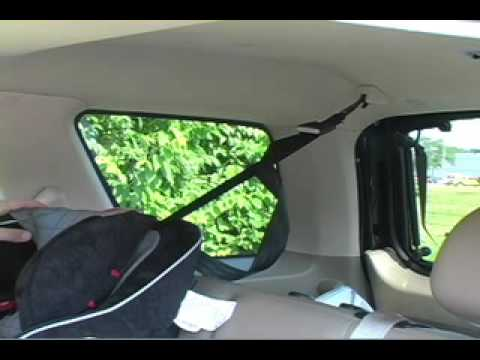 Car Seat Installation:  Evenflo Symphony Front Facing
