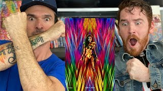 WONDER WOMAN 1984 Trailer REACTION!! | GAL GADOT | CHRIS PINE