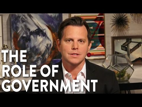 Government Shouldn't Solve All Our Problems