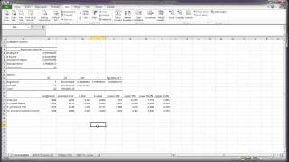 Correlation and Multiple Regression in Excel
