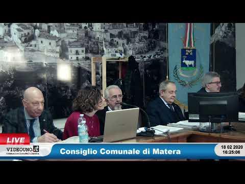 Consiglio Comunale di Matera18 febbraio 2020Regola...
