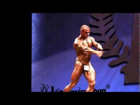 Andy McBride - Competitor No 95 - Class 2 - Prejudging - NABBA World 2012